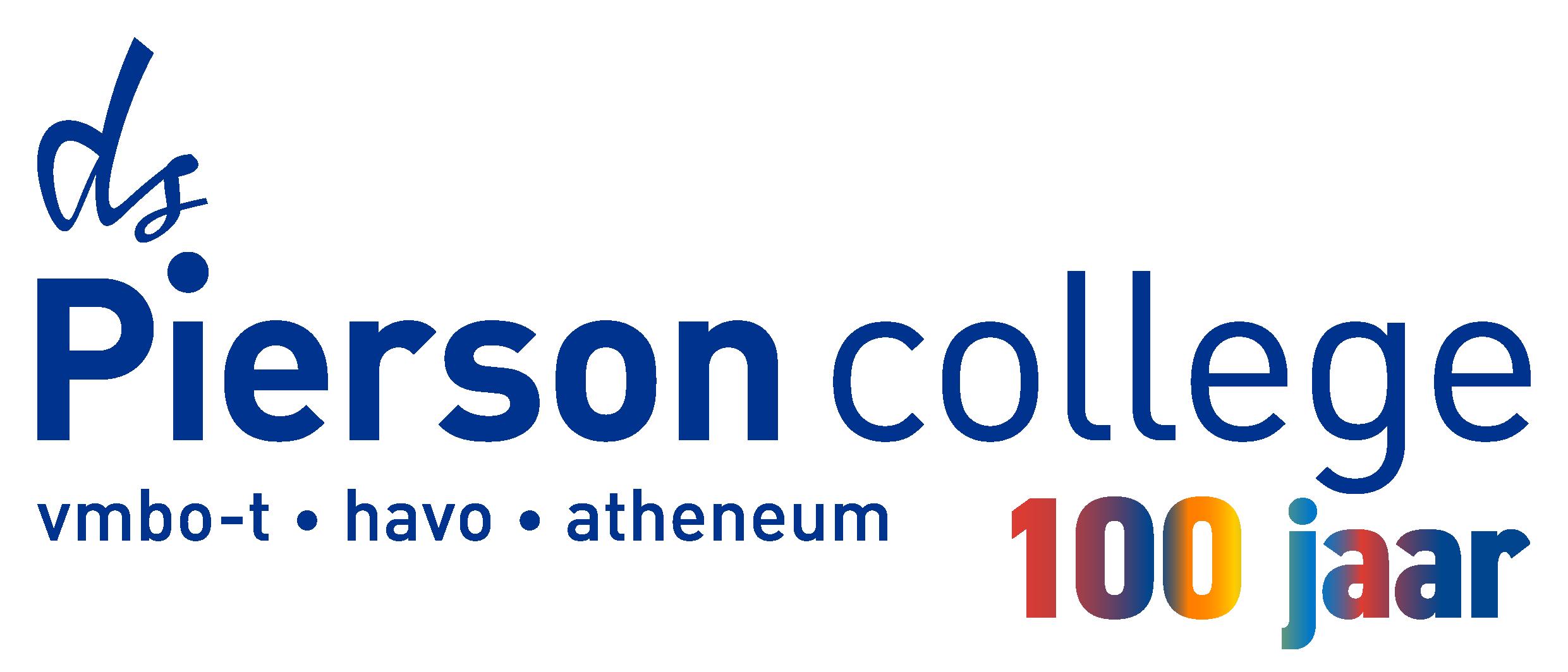 Pierson 100 jaar logo